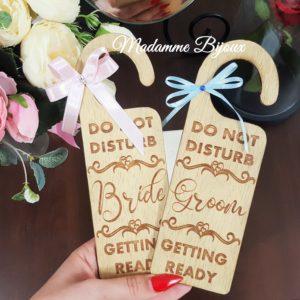 Accesorii nunta din lemn